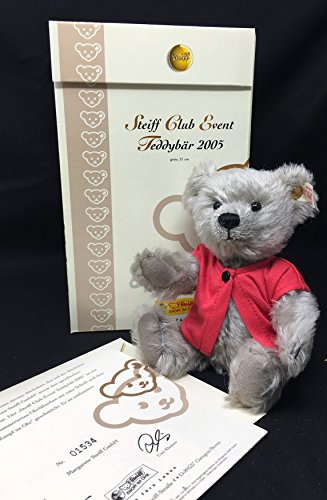 Steiff Club 2005 Event Teddy Bear - homage to 125th, used for sale  Delivered anywhere in USA