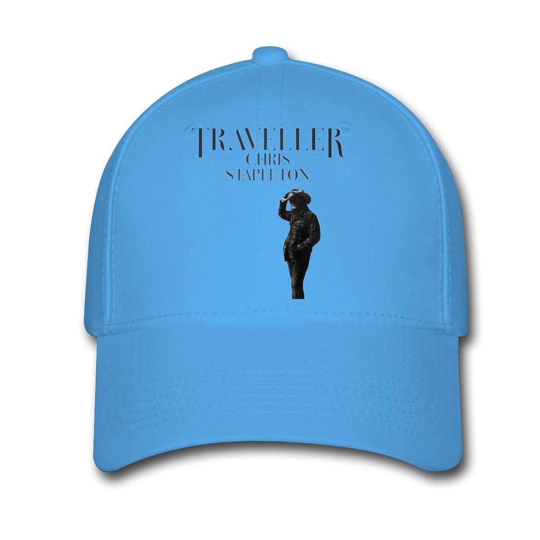 Women's or Man's Chris Stapleton Traveller 2016 Poster Morden Cotton Adjustable Baseball Caps