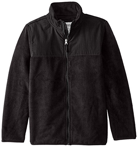 - The Children's Place Big Boys' Trail Jacket, Black, Medium/7-8