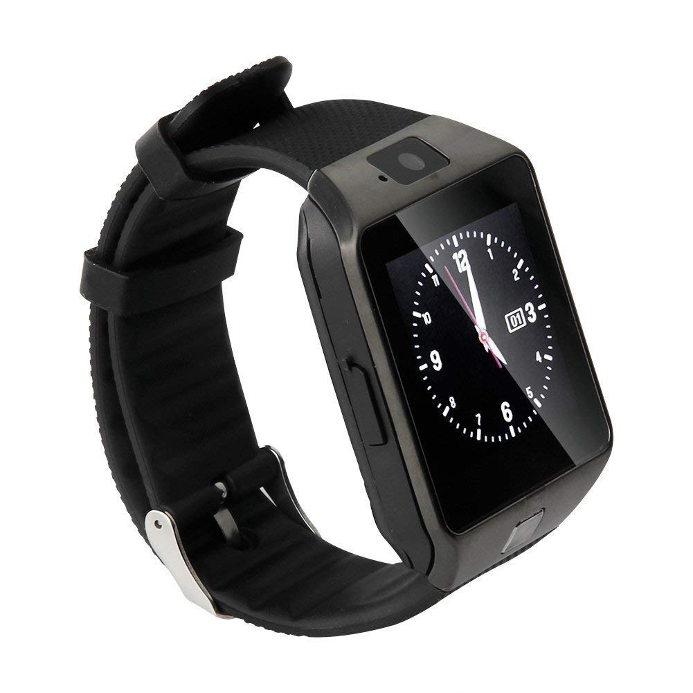 TechComm GV18 Bluetooth and GSM Unlocked Smart Watch 1.3 MP Camera