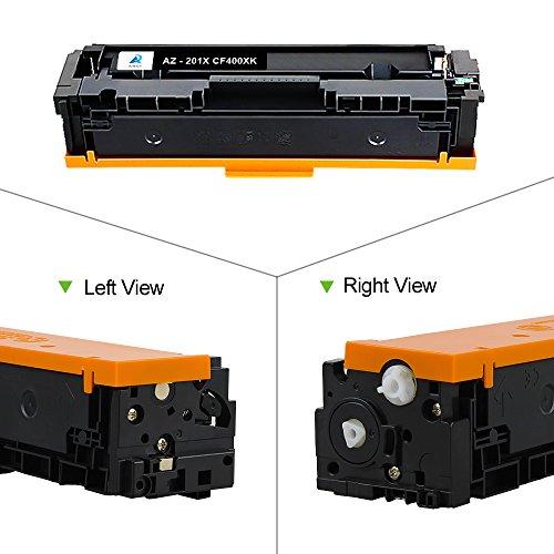 1PK 201X CF400X Black High Yield Color Toner For HP LaserJet M252dw M277dw M277n