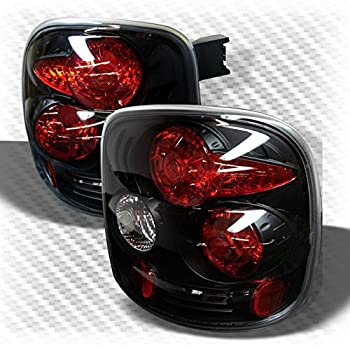 Amazon Com Spyder Auto Chevy Silverado Stepside Black Altezza Tail Light Automotive