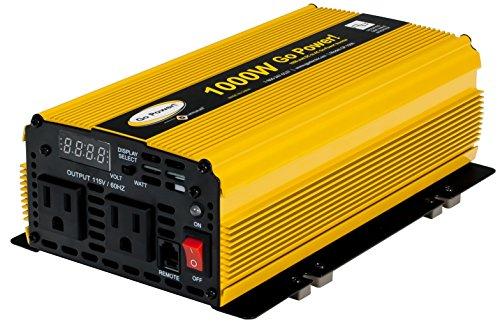 [Go Power! GP-1000 1000-Watt Modified Sine Wave Inverter] (One Inverter)