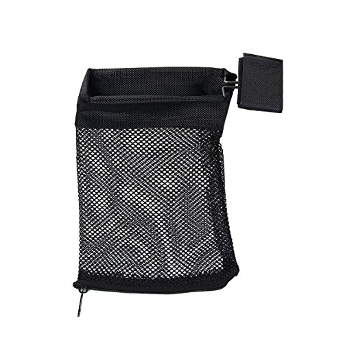 Cyberone Brass Catcher AR15 AR-15 Rifle Cartridge Shell Catcher Bullet Mesh Bag with Zippered Bottom for Tactical Hunting Shooting