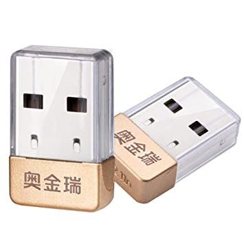 Amazon.com: Mini adaptador USB WiFi, tarjeta de red ...