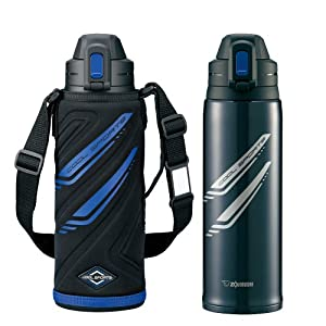 ZOJIRUSHI water bottle stainless steel cool bottle [1.03L] SD-EA10-BA