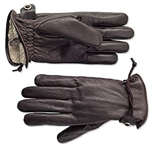 Amazon.com: Orvis Bison Leather Winter Gloves: Sports