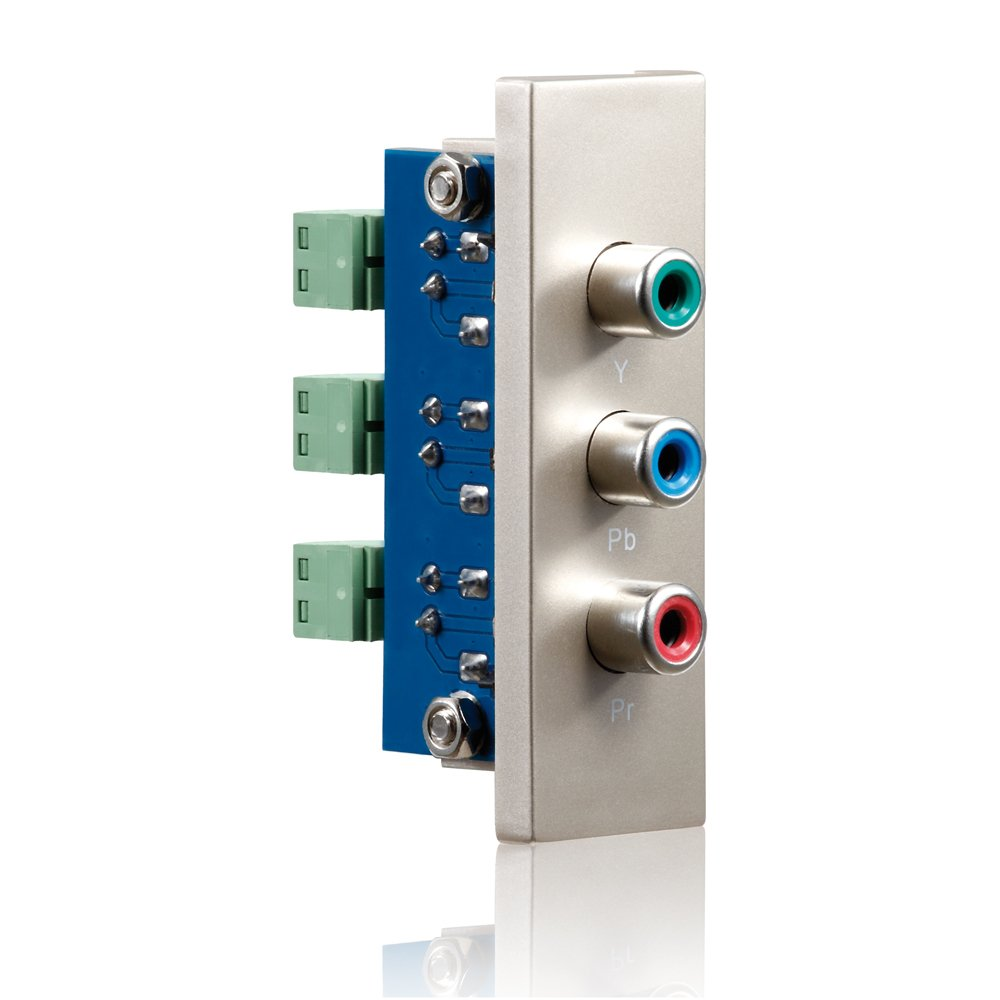 PureLink ID de WP de Mod de RB PureID 3/x RCA Wall Plate Conector Apertura componente