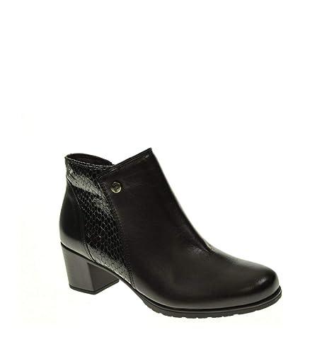 Botin Mujer - Mujer - Negro - pitillos - 5249: Amazon.es: Zapatos y complementos