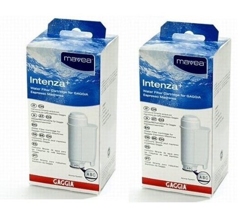 Intenza Mavea Water Filter for Gaggia Espresso Machines- Double Pack