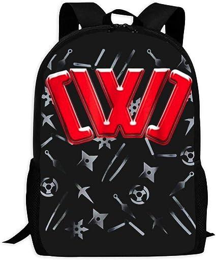 Amazon.com: SKKELLY08 CWC Chad Wild Clay Ninja s Mochila ...