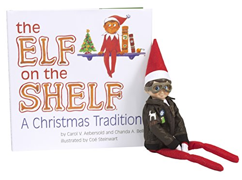 Amazon.com: The Elf on the Shelf: A Christmas Tradition Blue Eyed North Pole Elf Boy with Aviator Jacket & Goggles - Limited Product Collection: Toys & ...