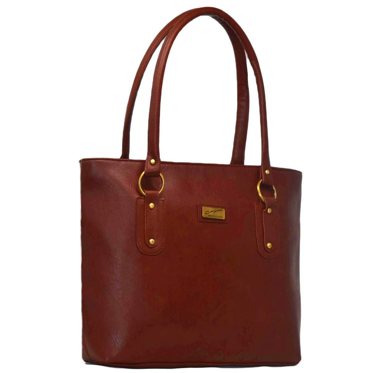 1b0bcdaff4 Pynk Fashion Leather Women s Handbag - Tan  Amazon.in  Shoes   Handbags