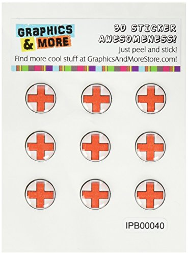 4s Cross (Graphics and More Red Cross Home Button Stickers Fits Apple iPhone 4/4S/5/5C/5S, iPad, iPod Touch - Non-Retail Packaging - Clear)
