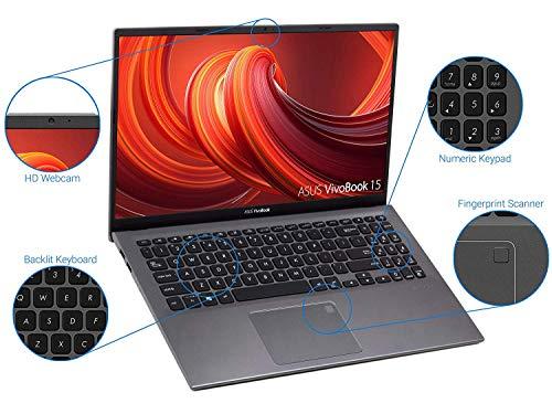 ASUS VivoBook F512DA Laptop, 15.6″ FHD Display, AMD Ryzen 3 3200U Upto 3.5GHz, 20GB RAM, 1TB NVMe SSD, Vega 3, HDMI, Card Reader, Wi-Fi, Bluetooth, Windows 10 Pro