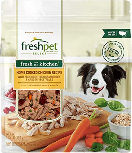 Freshpet Select Fresh From The Kitchen Home Cooked Chicken Recipe, 1.75 Lb (Pack of 4)
