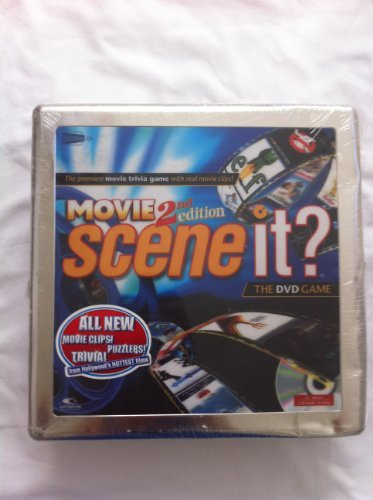 Ultimate Music Trivia Dvd Game - Movie Scene It? 2nd Edition the DVD Game The movie Trivia Game with Real Movie Clips