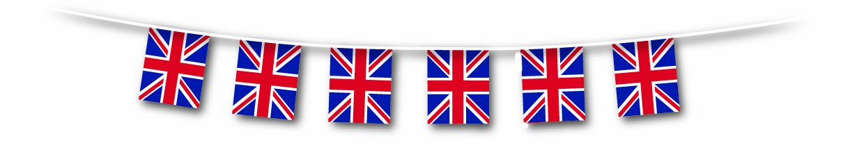 25m Union Flag Party Bunting
