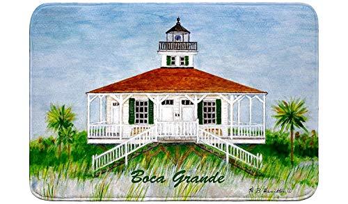 Betsy Drake Boca Grande Lighthouse Bath Mat 24x30