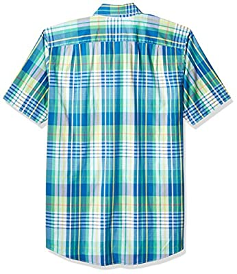 Nautica Men's Big and Tall Long Sleeve Classic Fit Plaid Button Down Shirt