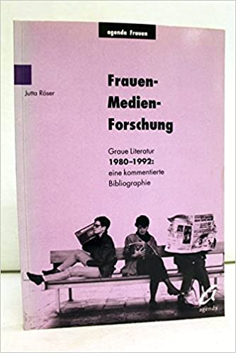 Amazon.com: Frauen-Medien-Forschung: Graue Literatur 1980 ...