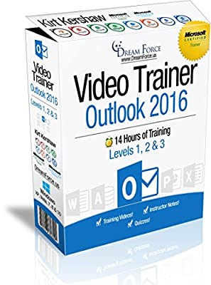 Outlook 2016 Training Videos – 14 Hours of Outlook 2016 training by Microsoft Office: Specialist, Expert and Master Instructor, and Microsoft Certified Trainer (MCT), Kirt Kershaw