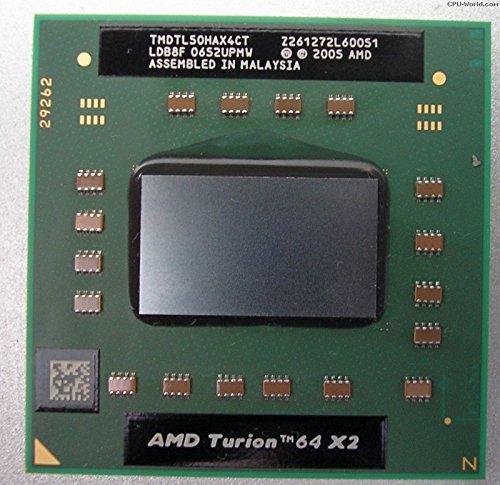 AMD Turion 64 X2 Dual-Core TL-50 1.6GHz Processor- TMDTL50HAX4CT