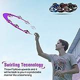 FRSWAY Flynova Flying Spinner Toy,Flying Gyro Mini