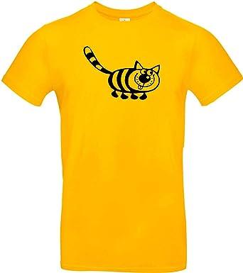 Cool Camiseta de Niño Funny Animales Gato: Amazon.es: Ropa y ...