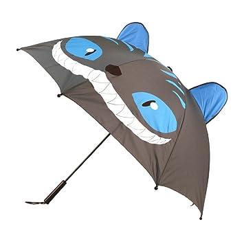 geeki nvader Stock paraguas sombrilla funda pantalla plegable Pantalla automático plegable el Unicornio Cosplay Fantasy gato