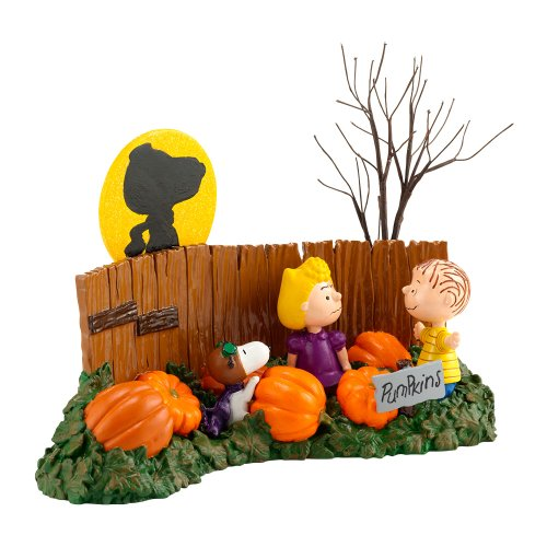 Department 56 Peanuts Where is The Great Pumpkin Figurine, 3.74 (Peanuts Great Pumpkin)
