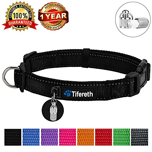 Pictures of Dog Collars Nylon Buckle Dog Collar Comfortable 1