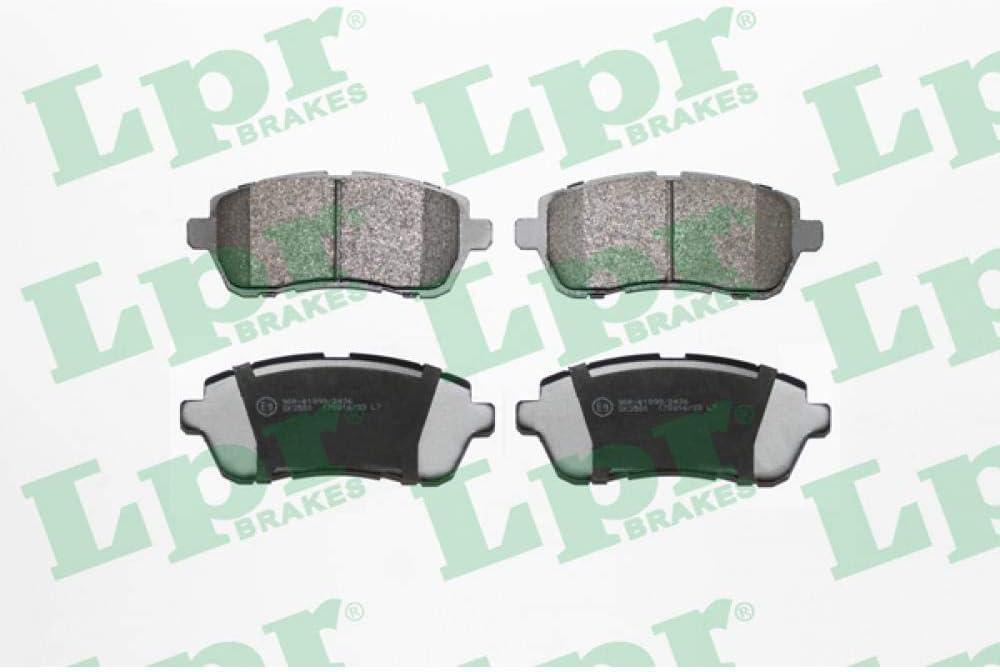 LPR 05P2045 Jeu de plaquettes de frein /à disque Plaquettes de frein Plaquettes de frein