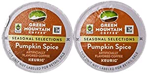 Green Mountain Pumpkin Spice Limited Edition Coffee For Keurig K-Cup Brewing System, 18 Count