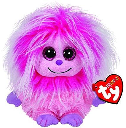 [Ty Frizzys Kink Plush, Pink NEW Beanie Babies Boo Plush Toy Boos] (Homemade Ty Beanie Baby Costumes)