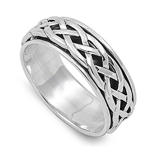 Braid Celtic Ring - 9