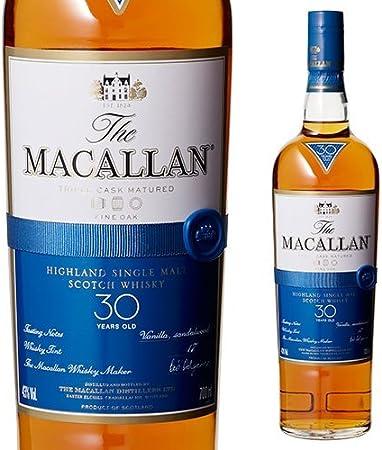 Macallan 30Yo Fine Oak Malt 43% Botella 70Cl Whisky Malta 30 Años