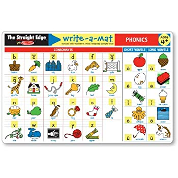 Amazon.com: Melissa & Doug Math Skills Placemat Set - Addition ...
