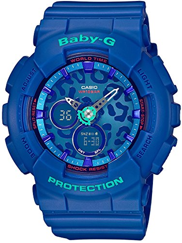Casio Baby-G Leopard Series Ladies Watch BA-120LP-2AJF (Japan (Casio Baby G-shock Resist)