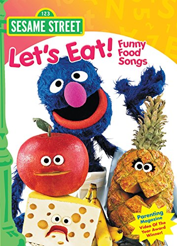 Amazon Com Sesame Street Let S Eat Funny Food Songs