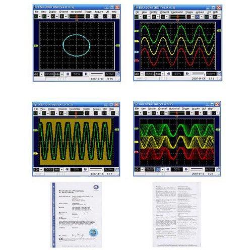 Pro Tek Oscilloscope : Protek dso pc based digital storage oscilloscope