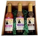 Asian Chef Sauce Set of 3 (8 oz GLASS Bottles) - Sampler Kit
