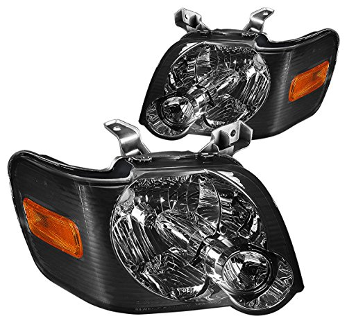 - DNA MOTORING HL-OH-FEXP06-SM-AM Headlight Assembly, Driver and Passenger Side
