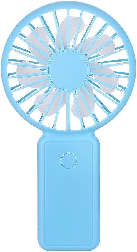 Andouy - Mini ventilador de mano portátil con ventilador de mesa ...