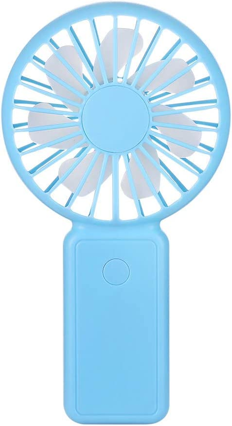 OrchidAmor Mini ventilador de mano, ventilador de mesa portátil ...