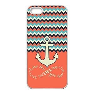 Love the Life You Live Customized Case for Iphone 5,5S, New Printed Love the Life You Live Case