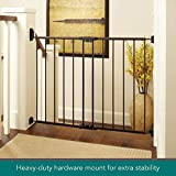 "North States Mypet 47.8"" Windsor Walk Thru Petgate: Heavy Duty Metal Construction. Hardware Mount. Fits 28.68""-47.85"" Wide"