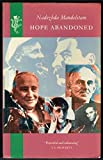 img - for Hope Abandoned by Nadezhda Mandel'shtam (1989-08-07) book / textbook / text book