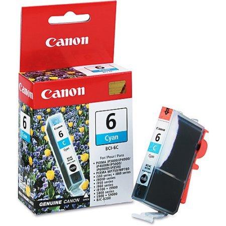 Canon BCI-6C Cyan Ink Cartridge - Cyan Cartridge 6c Bci