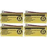 4 Pack AXIOM Home Phone Battery for ATT BT184342 BT28433